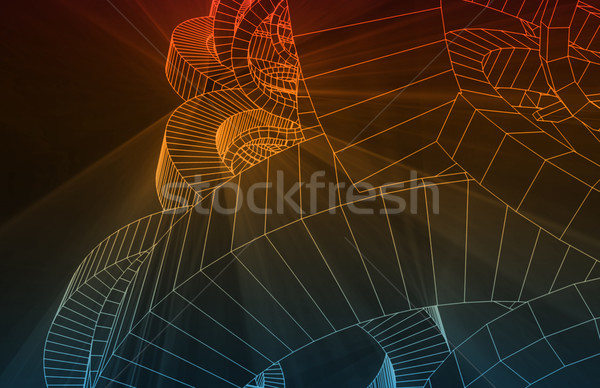 Engineering Design Stock photo © kentoh