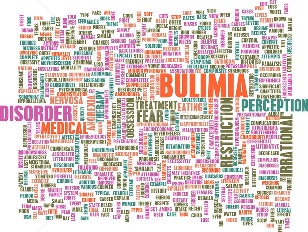 Stock photo: Bulimia Concept