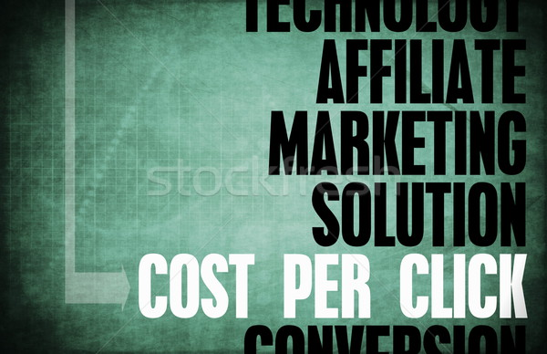 Cost Per Click Stock photo © kentoh