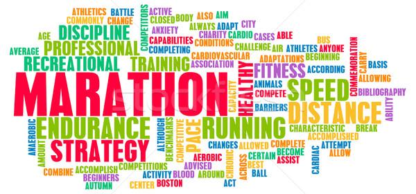 Marathon Stock photo © kentoh