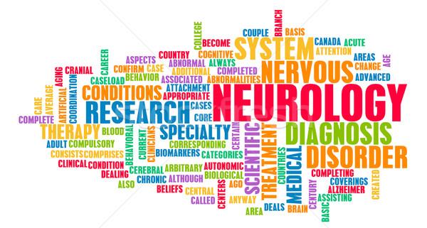 Neurológia orvosi mező specialitás iroda orvos Stock fotó © kentoh