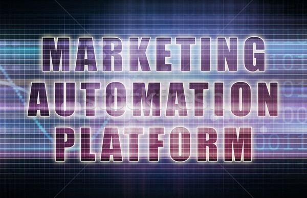 Marketing Automation Platform Stock photo © kentoh