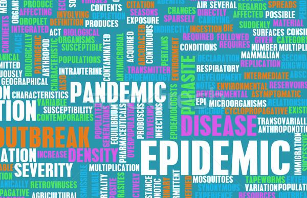 épidémie maladie concept changement contrôle Photo stock © kentoh