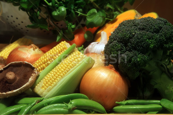 Stock photo: Fresh Ingredients