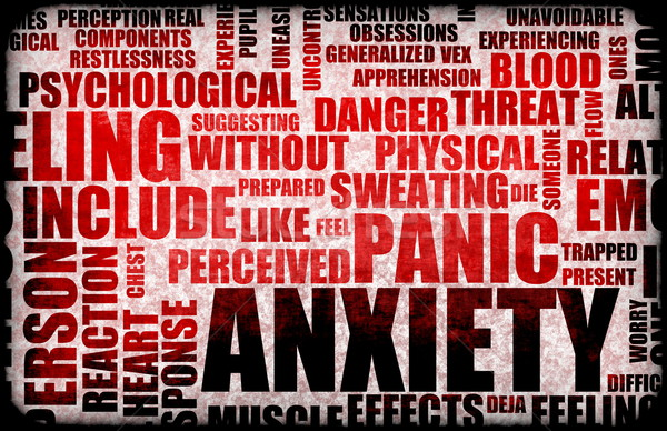 Anxiety Stock photo © kentoh