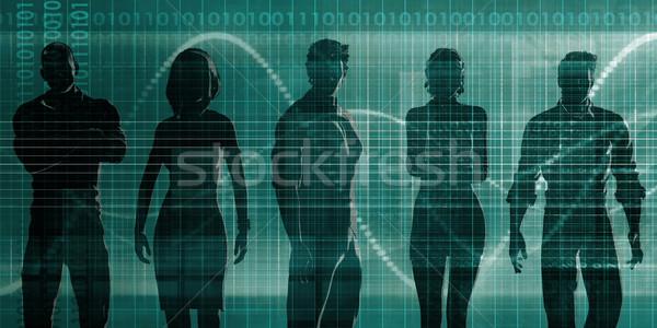Technology People Pairing Stock photo © kentoh