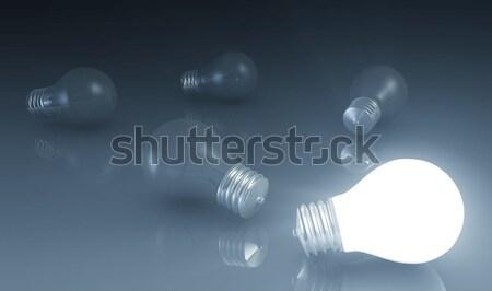 Découverte nouvelle idée recherche affaires design Photo stock © kentoh