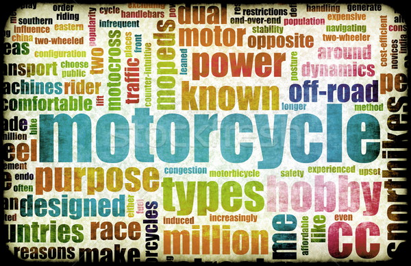 Motorcycle Hobby Stock photo © kentoh