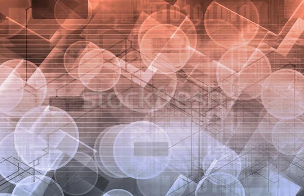 現代 科学 企業 芸術 インターネット 抽象的な ストックフォト © kentoh