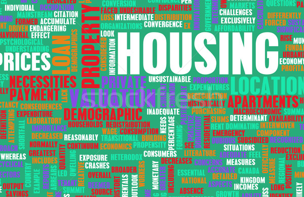 Housing Stock photo © kentoh