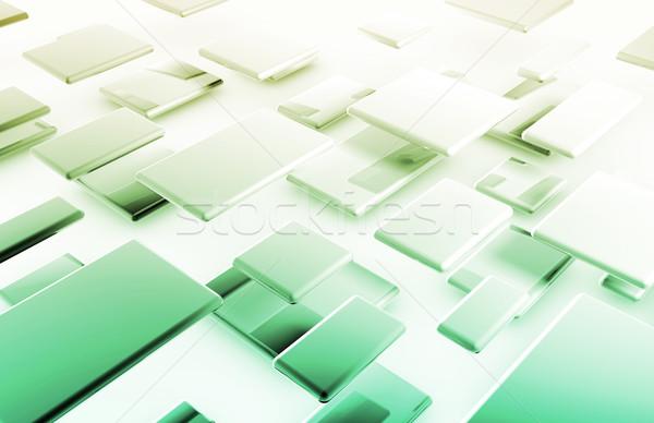 Internet kapcsolat adat biztonságos hálózat számítógép Stock fotó © kentoh