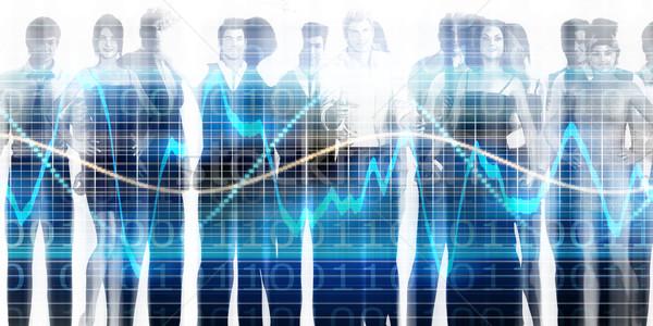 人間 リソース 管理 作業 ビジネスの方々  チーム ストックフォト © kentoh