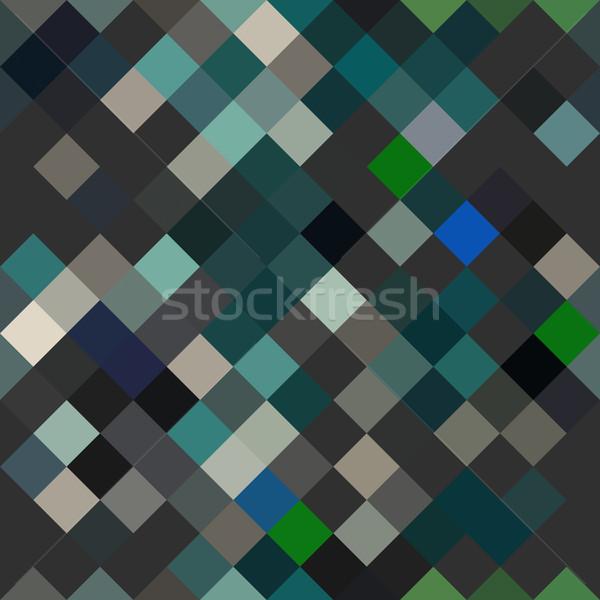 Foto stock: Sem · costura · abstrato · dinâmico · digital · projeto · tecnologia