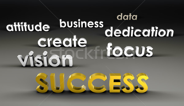 Success at the Forefront Stock photo © kentoh