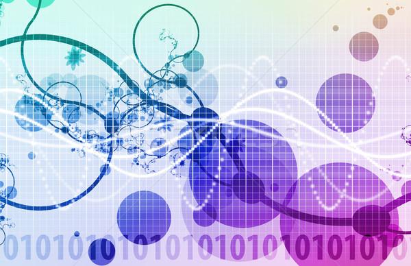 Bilim araştırma tıp biyoloji alan tıbbi Stok fotoğraf © kentoh