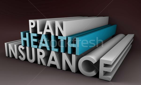 Health Insurance Plan Stock photo © kentoh
