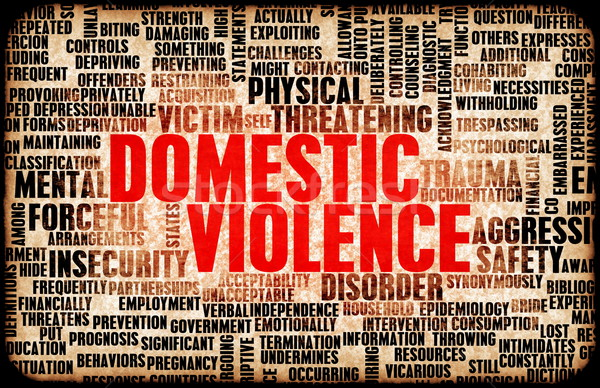 Domestic Violence Stock photo © kentoh