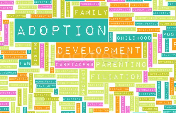 Adoption Stock photo © kentoh