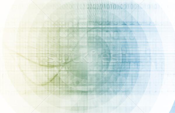 Teia tecnologia da informação arte futuro negócio internet Foto stock © kentoh