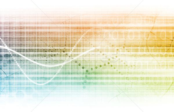 медицинской инженерных аннотация чистой искусства здоровья Сток-фото © kentoh
