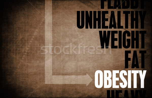Obesity Stock photo © kentoh