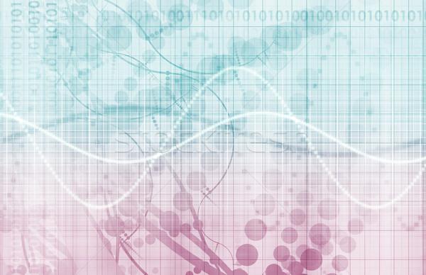 Gegevens analytics beheer groot business netwerk Stockfoto © kentoh