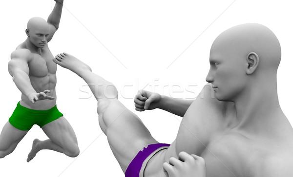 Self Defence or Self Defense Stock photo © kentoh