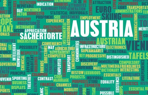 Autriche pays résumé art affaires football Photo stock © kentoh
