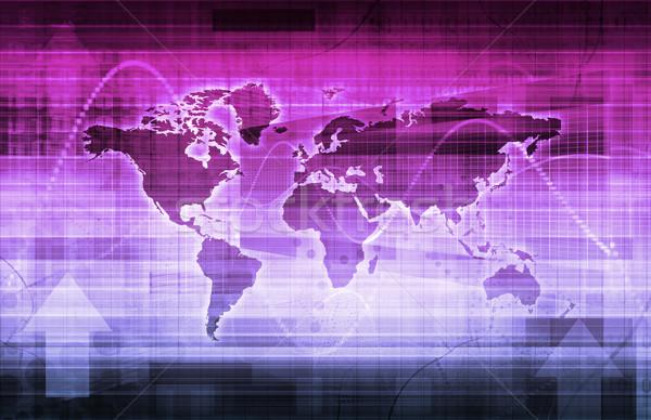Technology Tracking System Stock photo © kentoh