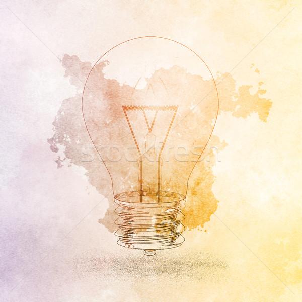 Zdjęcia stock: Naprzód · myślenia · innowacja · problem · pomysły · streszczenie