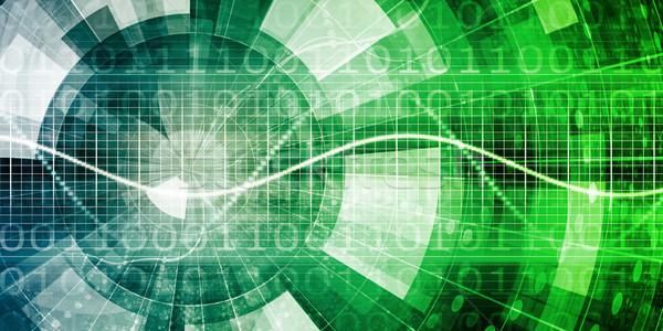 Orvostudomány futurisztikus technológia üzlet textúra internet Stock fotó © kentoh