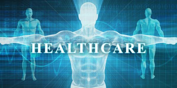 Salud médicos especialidad campo departamento hombre Foto stock © kentoh