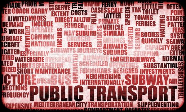 公共交通機関 列車 バス サービス 輸送 創造 ストックフォト © kentoh