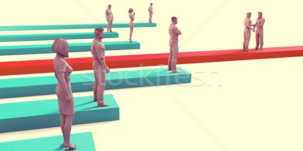 Business Growth Stock photo © kentoh