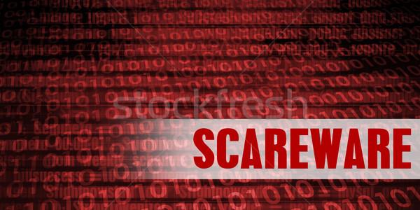 Scareware Security Warning Stock photo © kentoh