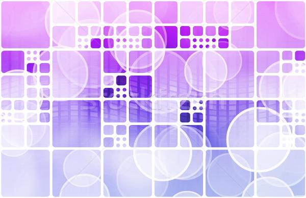Web tecnología de la información arte futuro negocios Internet Foto stock © kentoh