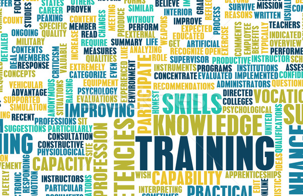 Stock photo: Training