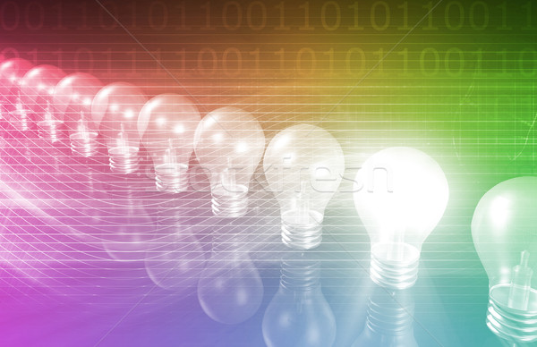 Innovation Business Concept Stock photo © kentoh