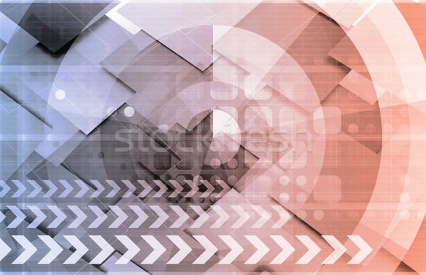 программное инженерных Tech бизнеса компьютер интернет Сток-фото © kentoh