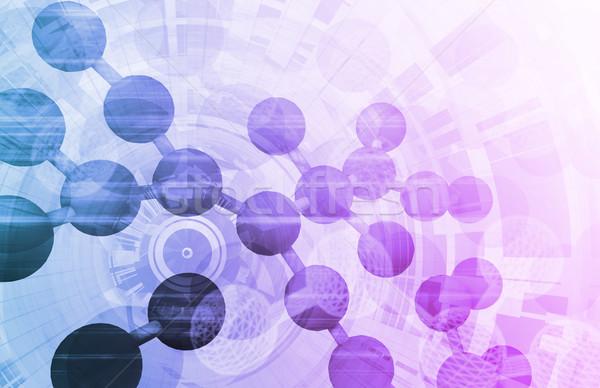 Tıbbi araştırma arka plan satış hücre DNA Stok fotoğraf © kentoh