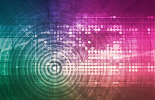 人工知能 インテリジェンス ネットワーク 学習 コンピュータ 業界 ストックフォト © kentoh