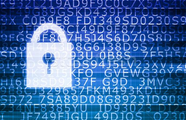 Stock fotó: Biztonság · technológia · online · digitális · magánélet · titkosítás