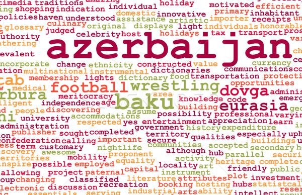 Azerbaiyán país resumen arte negocios alimentos Foto stock © kentoh