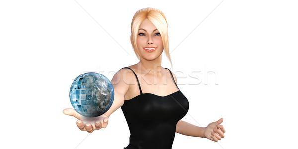 Global Technology Stock photo © kentoh
