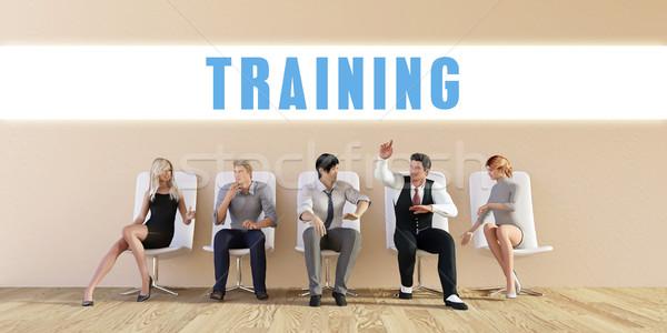 Business Training Stock photo © kentoh