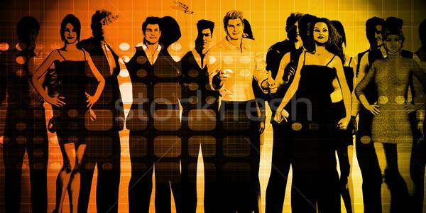 Confident Businessmen Stock photo © kentoh