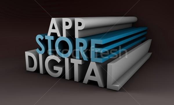 Application Store Stock photo © kentoh