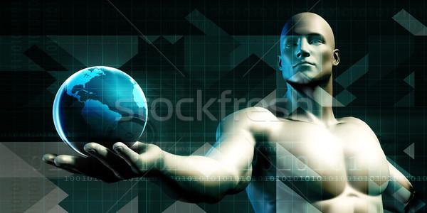 Worldwide Technology Stock photo © kentoh