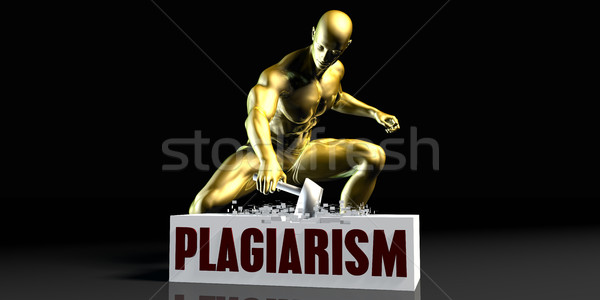 Plagiarism Stock photo © kentoh