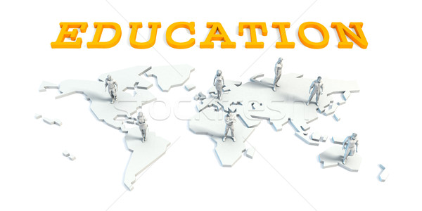 Education Concept with Business Team Stock photo © kentoh